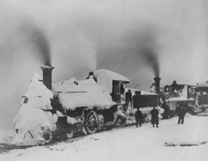 January 23, 1908 Steam Locomotive, Cambridge to Seaford Route
