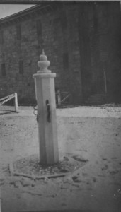 Kent County Whipping Post at the Kent County Jail