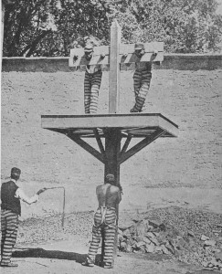 New Castle County Whipping Post at the New Castle County Workhouse