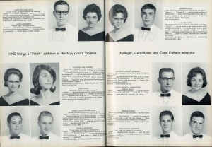 Milford High School Seniors, 1964 Milfordian Yearbook State Reports Collection (RG 1325-003-147-8120)