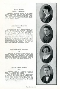 Dover High School Seniors, 1924 Dover High School Yearbook State Reports Collection (RG 1325-003-147-8075)