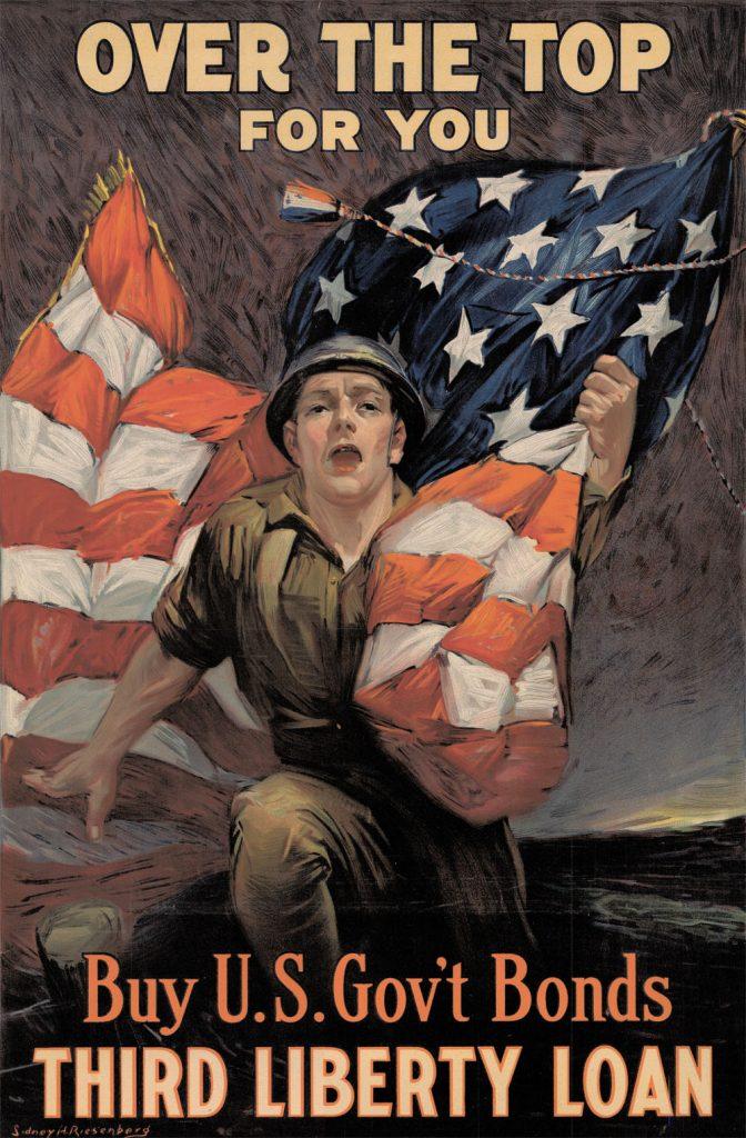 Buy War Bonds Poster, 1918. (Delaware Public Archives)