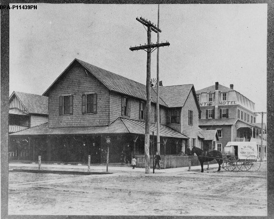Allee W. Dick's Store, Corner of Rehoboth and First Street, North West Corner