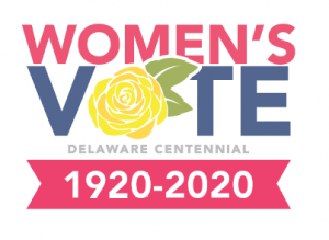 Picture of the Women's Vote Delaware Centennial logo