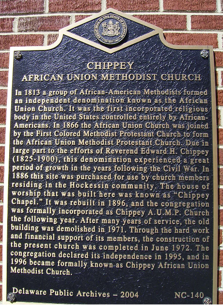 NC-140: Chippey African Union Methodist Church