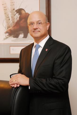 Wesley College President Clark