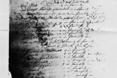 1680: Census of the Householders from Cedar Creek to Duck Creek