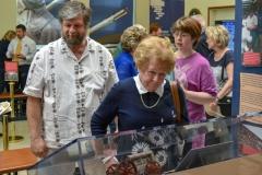 Guests enjoy the exhibit