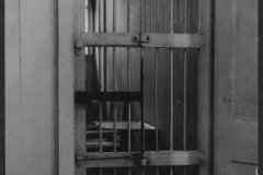 A cell at the Occoquan Workhouse. This is the same jail that women of the suffrage movement were brought to when they were arrested.
