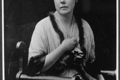 Lucy Burns, Vice Chairman of the Congressional Union. Photo was taken in 1913.