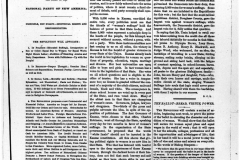 """Elizabeth Cady Stanton, Susan B. Anthony, and Parker Pillsbury publish the first edition of The Revolution in 1868. This periodical carries the motto """"Men, their rights and nothing more; women, their rights and nothing less!"""""""